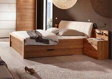 Bettgestelle ohne Matratze aus Massivholz mit eingebautem Bettkasten
