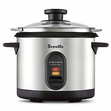 Breville - The Set & Serve Rice Cooker BRC310