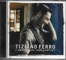 CD 14 TITRES TIZIANO FERRO L'AMORE E UNA COSA SEMPLICE 2011 NEUF SCELLE