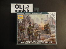 1/72 German Elite Troops 1941-1943 FIGURES SET - Zvezda 6180