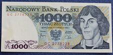 # Polen Banknot 1000 zł - seria GC z 1982 roku UNC - od 6,99 zl #