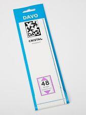 DAVO CRISTAL STROKEN MOUNTS C48 (215 x 52) 18 STK/PCS