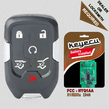 Replacement Smart Remote Key Fob 6B 315MHz ID46 for 2015-2020 GMC Yukon HYQ1AA