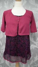 Pink and Purple Layered Top From Evie size 10-12