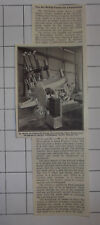 New Arc Melting Furnace For Johannesburg South African Mines 1940 News Clipping