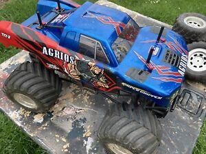 Custom Tamiya RC 1/10 Agrios 4x4 Monster Truck TXT-2