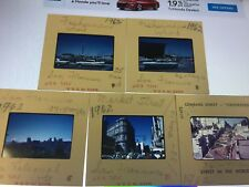 San Francisco Street Scenes Cars 5 35mm Slides 1962  California Lombard