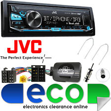 Renault Megane 2005-08 JVC DAB Bluetooth MP3 USB Car Stereo & Steering Wheel Kit