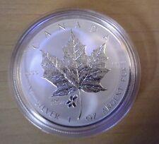 Canada 2015 ANA Chicago Illinois Violet Privy Mark Show Silver Maple Leaf $5 SML