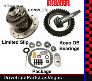 """Posi LSD Package Powertrax GM Chevy 8.6"""" Ring Pinion Master Kit 3.73 2000 - 2008"""