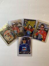 Jeff Gordon Trading Card Lot 1996-2000 Upper Deck, Pinnacle And Wheels