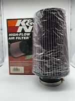 K&N High-Flow Air  Filter Designed To Increase Horsepower Clamp-On P/N RE-0810
