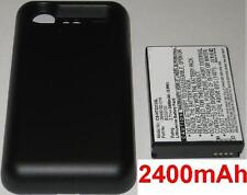 Case + Battery 2400 mAh type 35H00152-01M BG32100 for HTC Incredible S S710E