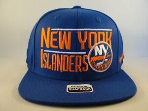 New York Islanders NHL Reebok Snapback Hat Cap Blue