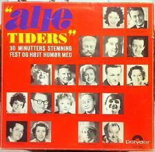 "Various - Alle Tiders 10"" VG LUP 806 Vinyl Polyphon 1st Denmark Rare Pop"