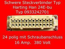 Neue 24 pol Harting Steckverbinder Buchse  Han24E-bu, Elektronik & Messtechnik