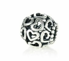 PANDORA Silver Open Heart Charm - 790964