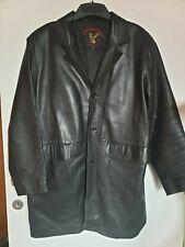 manteau/veste cuir qualité XL noir