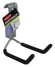 Rubbermaid  FastTrack  3.0 in. W x 3 in. D Silver / Black  Steel  Cooler Hook
