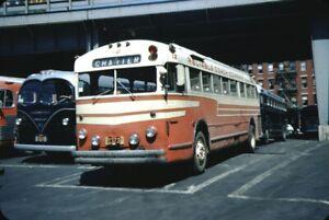 Reliable Coach Co GM PD 3701 Bus Kodachrome original Kodak Slide