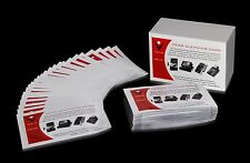 Box of 50 CR-50 Card Reader Cleaning Cards - Door Terminal Magnetic Head Swipe