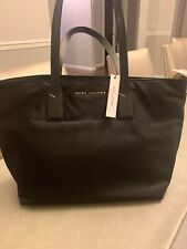 Marc Jacobs Wingman Nylon Top Zip Tote Bag Black M0013561