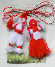 Bulgarian Martenitsa traditional Pijo and Penda dolls handmade given for love