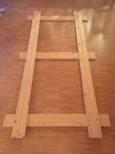 Hüsler Nest Einlegerahmen - 200cm x 100 cm - starr - Holz naturbelassen
