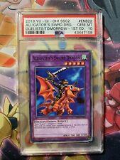 YUGIOh Speed Duel SS02 ENB22 Alligator's Sword Dragon 1st Ed PSA 10 Gem Mint