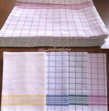 12 X Extra Large 100 Cotton Tea Towels (90x63cm)