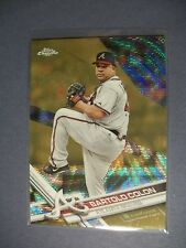 BARTOLO COLON 2017 Topps Chrome Gold Refractor #33 Mets, Braves, Indians 24/50