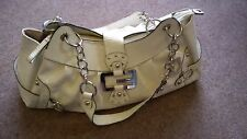 Awesome large off white/cream GUESS handbag