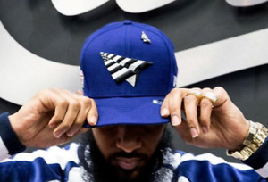 ROC NATION ✈️ SNAPBACK OLD SCHOOL CROWN ROYAL HAT PAPER PLANES PIN NIPSEY🔥