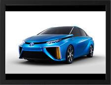 "TOYOTA FCV CONCEPT CAR A3 FRAMED PHOTOGRAPHIC PRINT 15.7""x11.8"""