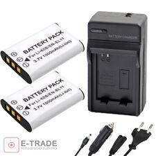 2x EN-EL11 D-LI78 Battery + CHARGER For Nikon Coolpix S520 S550 S560 - 1000mAh