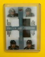Jonathan Quick - 2014-15 Upper Deck ICE Frozen Foursome jersey Los Angeles Kings