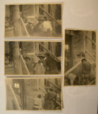 1920's Original Chinese Missionary Photograph Group Laying Mission Cornerstone