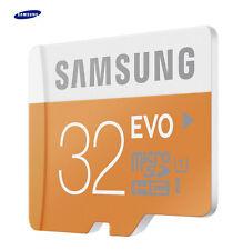 Geunine Samsung Evo 32GB Micro SD SDHC 48MB/s UHS-I Class 10 Memory Card