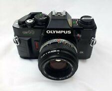 Olympus OM40 Program 35mm Film Camera with Olympus 50mm F/1.8 Zuiko Lens