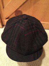 Vintage Worth & Worth Wool Gatsby Newsboy Cabbie Hat Tweed NEW Sz Medium USA