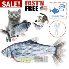 Realistic Fish Cat Toy Electric Floppy Moving Catnip Toys Flopping Us
