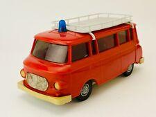 VEB Anker PIKO 1/25 Barkas B-1000 Feuerwehr-Bus + Dachträger Ohne Schwungrad