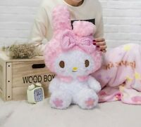 New Cute Kawaii My Melody Kitty Doll Plush Toy Soft With Blanket Cos Girls Gift