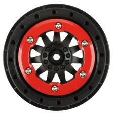Pro-Line 2746-03 F-11 2.2 Inch /3.0 Inch Red/black Bead-loc Wheels (2)