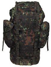 BW Bundeswehr Kampfrucksack Rucksack 65l flecktarn Outdoor Camping NEU MFH