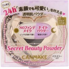CANMAKE Secret Beauty Powder 01 Clear Powder 4.5g JAPAN