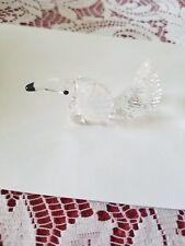 """Swarovski Silver Crystal Anteater 2.5"""" in box"""