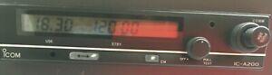 ICOM IC A200 VHF COM RADIO  A200 TRANSCEIVER