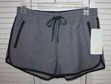 NWT Womens Lululemon Gray Varsity Shorts Size 12