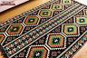 135 cm x 200 cm Orientalischer Teppich, Kelim ,Carpet aus Damaskunst S 1-4-73